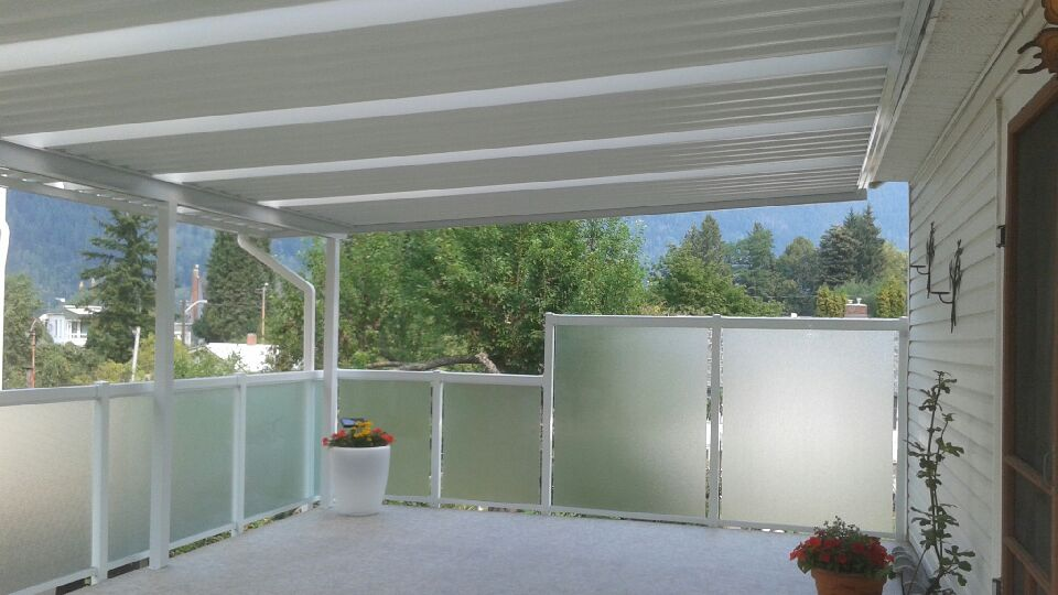 Deck, railing and awning install - Patio Cover Photos, Deck Cover Photos, Aluminum Railing Systems, Decks